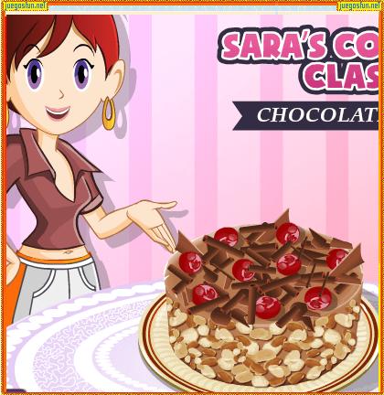 Cocina Con Sara Pastel De Chocolate Juegosfun Net