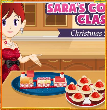 Cocina Con Sara Snacks Para Navidad Juegosfun Net