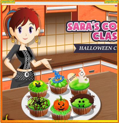 Cocina Con Sara Cupcakes De Hallowen 2 Juegosfun Net