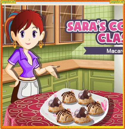 Cocina Con Sara Macarrones Juegosfun Net