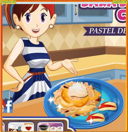 Cocina con sara pastel del d a del padre - Juegos de cocina con niveles ...