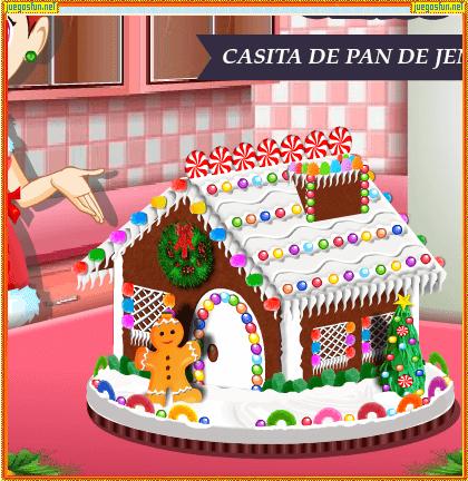 Juegos De Cocina Con Sara Casita De Jengibre | Cocina Con Sara Casita De Jengibre Juegosfun Net