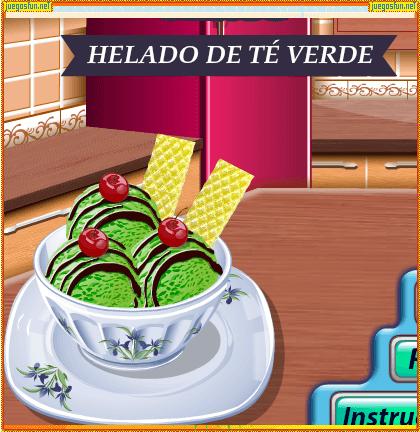 Cocina Con Sara Helado De Te Juegosfun Net