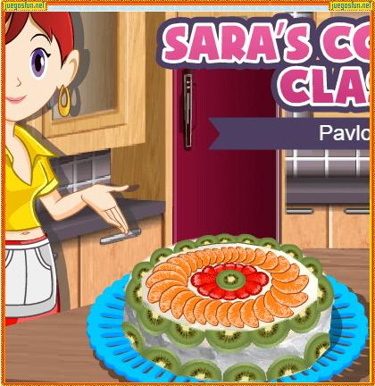 Cocina Con Sara Pavlova Juegosfun Net