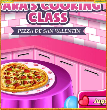 Cocina Con Sara Pizza De San Valentint Juegosfun Net